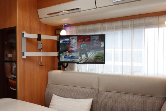 Hymer B 534 DL Duo mobil, AUTOMAAT, 180 pk Dynamic Line 30
