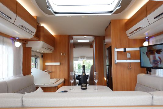 Hymer B 534 DL Duo mobil, AUTOMAAT, 180 pk Dynamic Line 37