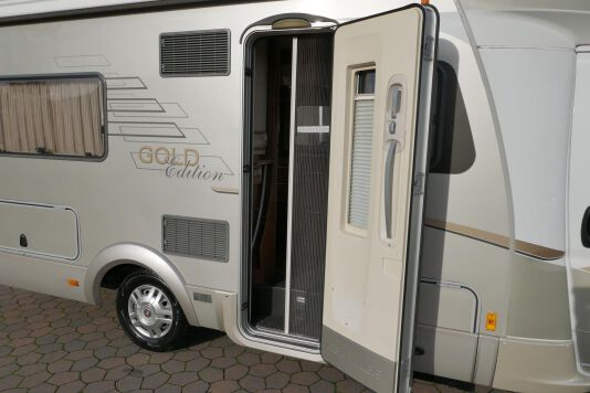 Hymer  T 654 SL Gold Edition  laag bed, incl. luchtvering 10