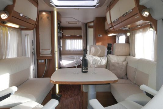 Hymer  T 654 SL Gold Edition  laag bed, incl. luchtvering 20