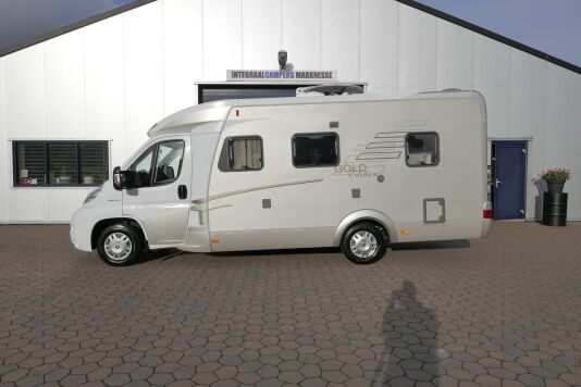 Hymer  T 654 SL Gold Edition  laag bed, incl. luchtvering 2