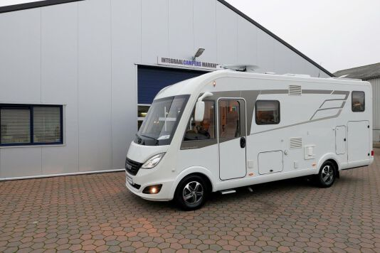 Hymer B 574 / 588 DynamicLine 180 PK AUTOMAAT, MAXI chassis, enkele bedden 48
