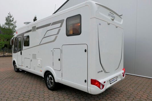 Hymer B 574 / 588 DynamicLine 180 PK AUTOMAAT, MAXI chassis, enkele bedden 6