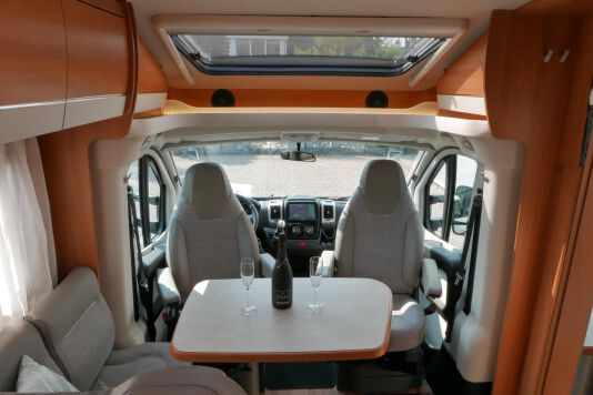 Hymer T 568 SL 3.0 177 pk AUTOMAAT, LEVELSYSTEEM, Maxi chassis 21