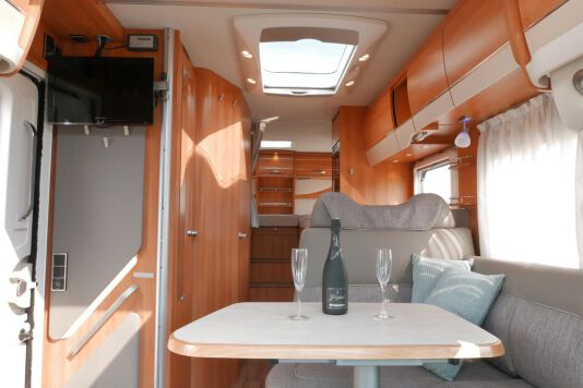 Hymer T 568 SL 3.0 177 pk AUTOMAAT, LEVELSYSTEEM, Maxi chassis 26