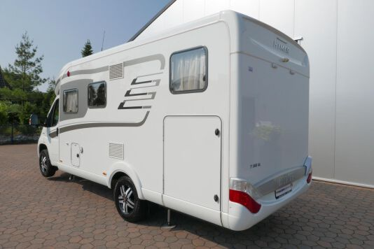 Hymer T 568 SL 3.0 177 pk AUTOMAAT, LEVELSYSTEEM, Maxi chassis 6
