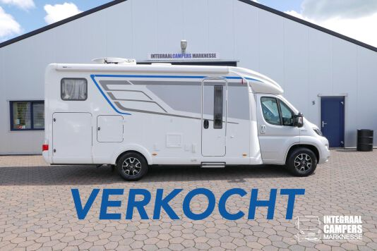 Hymer T 588 SL AL-KO chassis, AUTOMAAT, lengte bedden 0