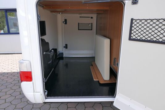 Hymer T 588 SL AL-KO chassis, AUTOMAAT, lengte bedden 10