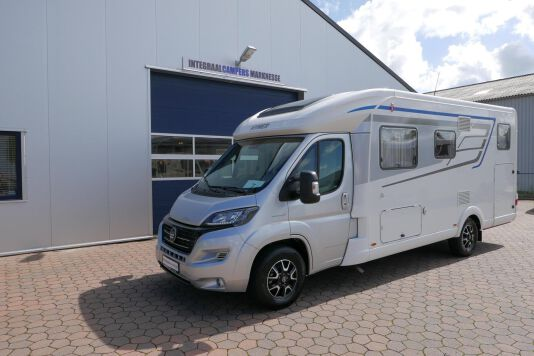 Hymer T 588 SL AL-KO chassis, AUTOMAAT, lengte bedden 19