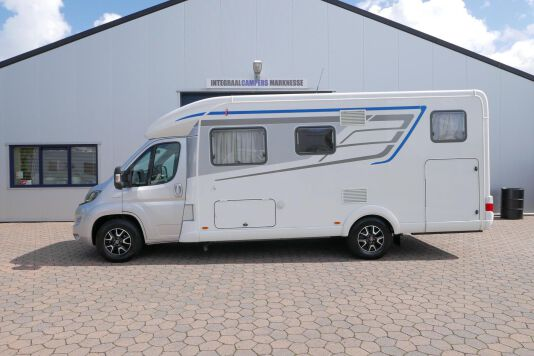 Hymer T 588 SL AL-KO chassis, AUTOMAAT, lengte bedden 2