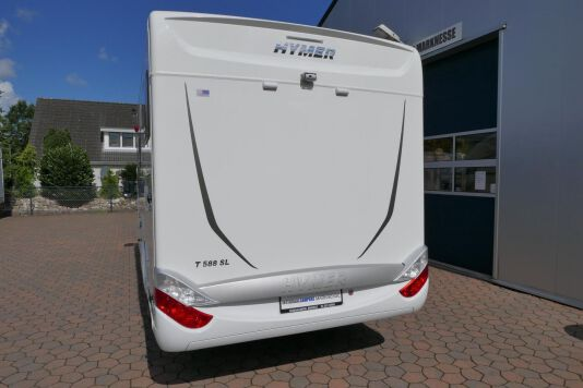 Hymer T 588 SL AL-KO chassis, AUTOMAAT, lengte bedden 3
