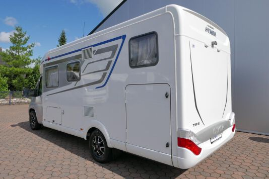 Hymer T 588 SL AL-KO chassis, AUTOMAAT, lengte bedden 5