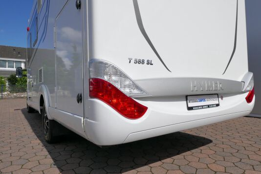 Hymer T 588 SL AL-KO chassis, AUTOMAAT, lengte bedden 8