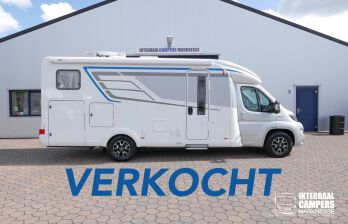 Hymer T 588 SL AL-KO chassis, AUTOMAAT, lengte bedden