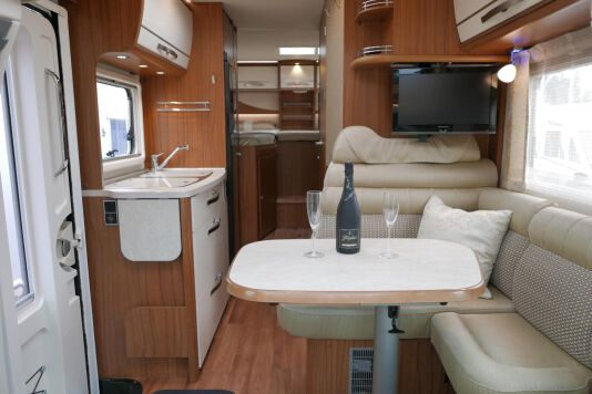 Hymer ML-T 580 7G AUTOMAAT, 4200 chassis, enkele bedden 22