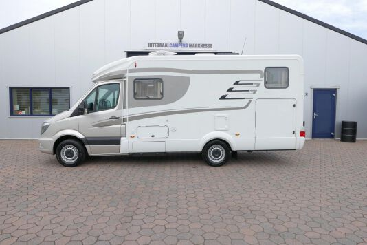 Hymer ML-T 580 7G AUTOMAAT, 4200 chassis, enkele bedden 2