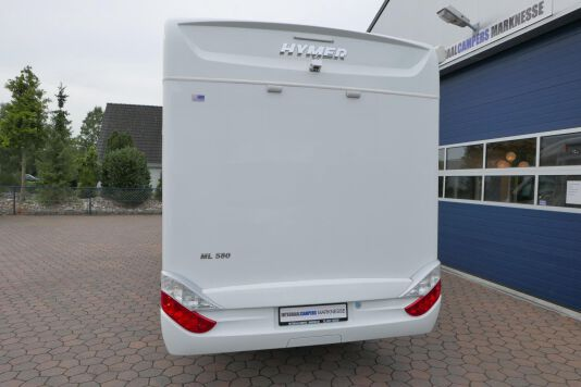 Hymer ML-T 580 7G AUTOMAAT, 4200 chassis, enkele bedden 3