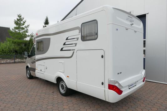 Hymer ML-T 580 7G AUTOMAAT, 4200 chassis, enkele bedden 5