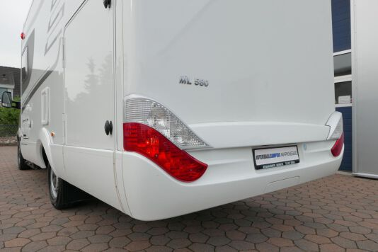 Hymer ML-T 580 7G AUTOMAAT, 4200 chassis, enkele bedden 7